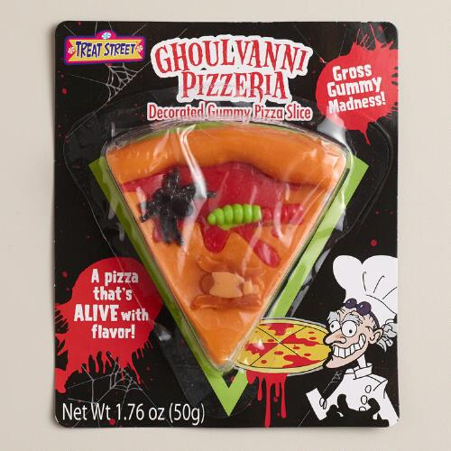 Halloween Pizza Slice