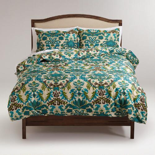 Scottish Mist Duvet and Pillow Shams Set