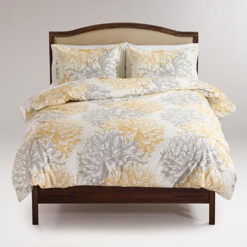 Josie Floral Duvet and Pillow Shams Set