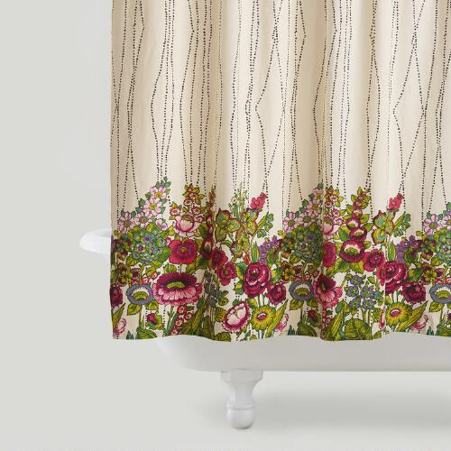 Rosalita Shower Curtain