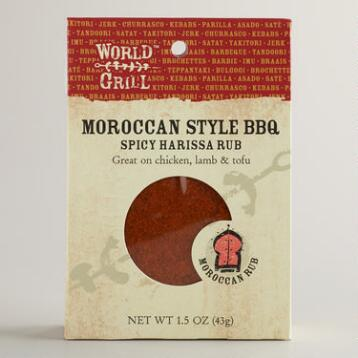 World Grill Spicy Harissa Rub, Set of 6