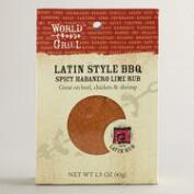 World Grill Habanero Lime Rub, Set of 6