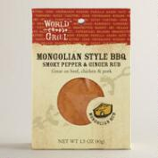 World Grill Mongolian BBQ Rub