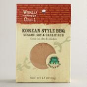 World Grill Korean BBQ Rub
