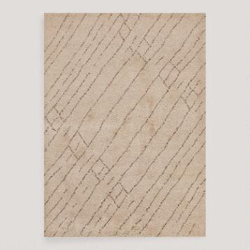 Malak Knotted Wool Rug