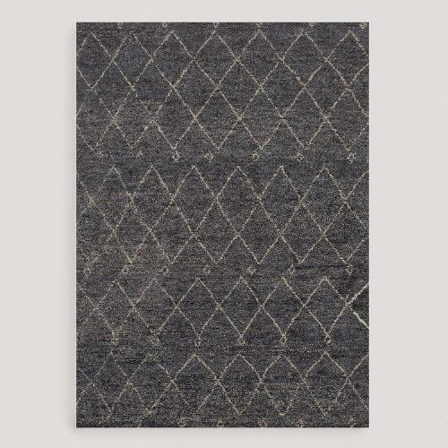 Amira Knotted Wool Rug