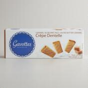 Gavottes Salted Butter Caramel Crêpe Cookies