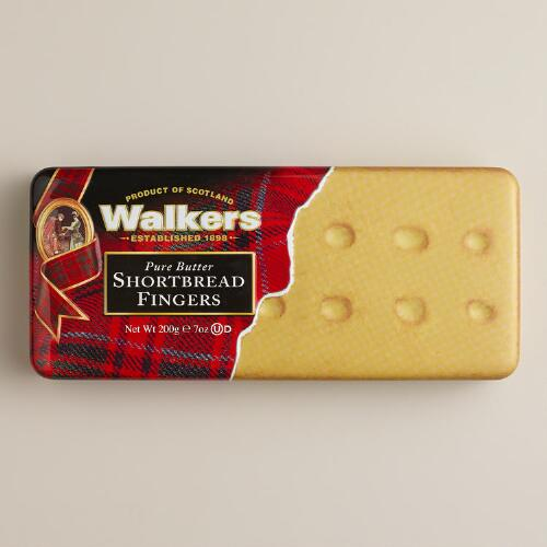 Walkers Shortbread Fingers Tin