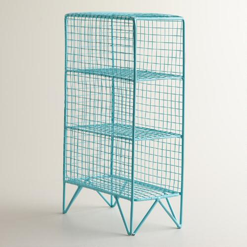 Aqua 3-Bottle Mesh Grid Holder