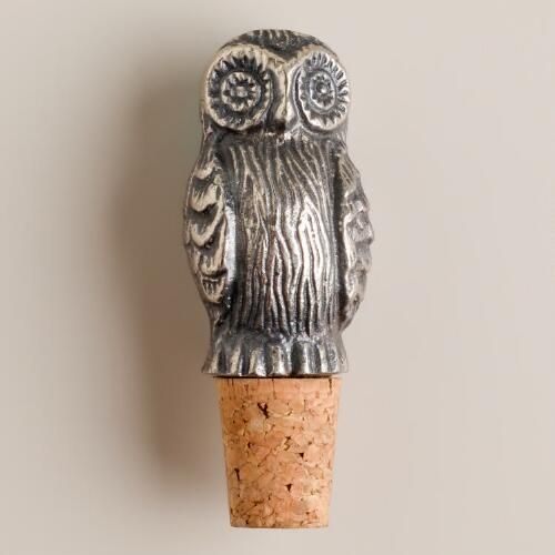 Owl Bottle Stopper