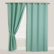 Blue Surf Bori Curtain