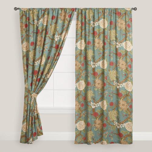 Lucinda Palampore Curtain