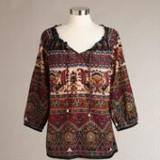 Brown Anika Top