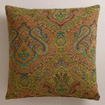 Sage Jacquard Glasgow Throw Pillow