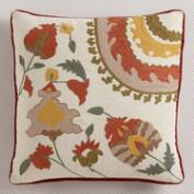 Suzani Maison Throw Pillow