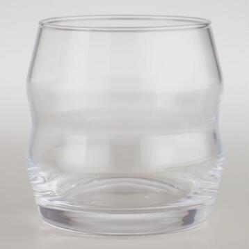 Groove Rocks Glasses, Set of 4
