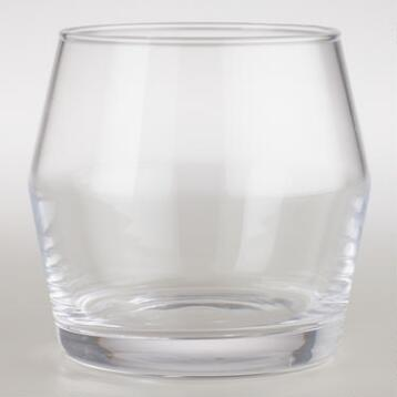 Angled Rocks Glasses, Set of 4