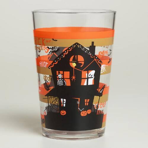 Haunted House Tumblers, Set of 2