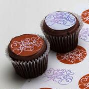 Ticings Thank You Icing Toppers, 15-Count