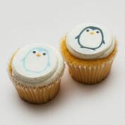 Ticings Chill Penguins Icing Toppers, 15-Count