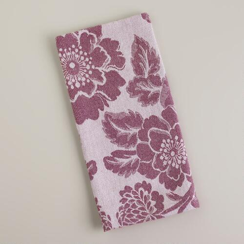 Fig Artichoke Jacquard Kitchen Towel
