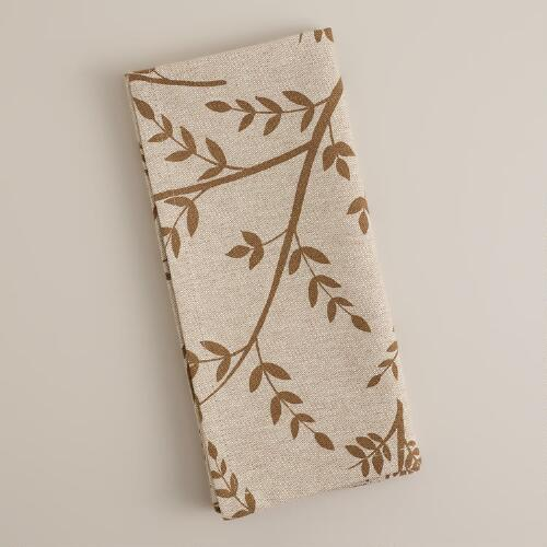 Floral Artiste Napkins, Set of 4