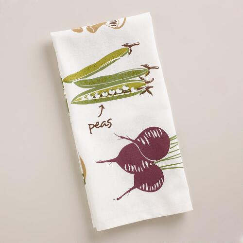 Autumnal Fruits Kitchen Towel