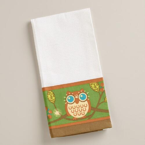 Owls Kitchen Towel