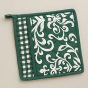 Green Bistro Potholder