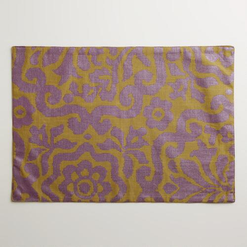Fig Darlington Placemats, Set of 4