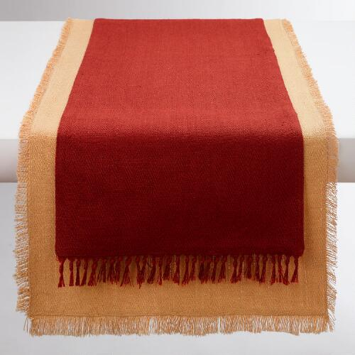 Henna Herringbone Table Runner