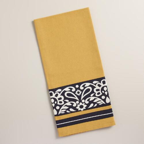Yellow Maison Kitchen Towel