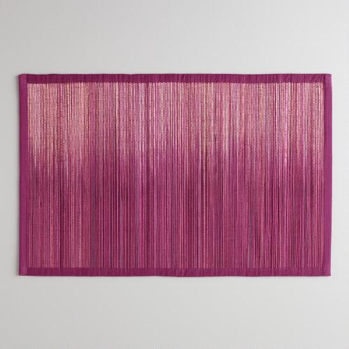Fig Ombre Placemats, Set of 4