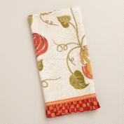 Pumpkin Harvest Tea Towel