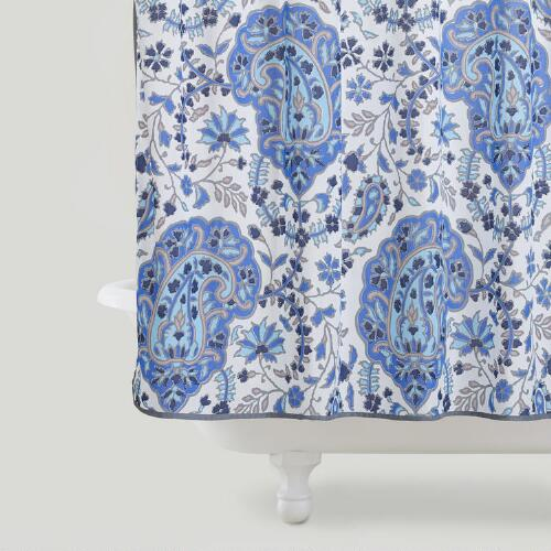 Ria Paisley Shower Curtain