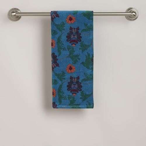 Nouveau Feather Hand Towel