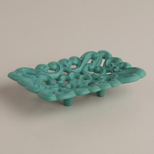 Beryl Green French Soap Dish