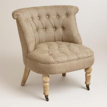 Flax Vanity Chair