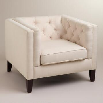 Ivory Kendall Chair