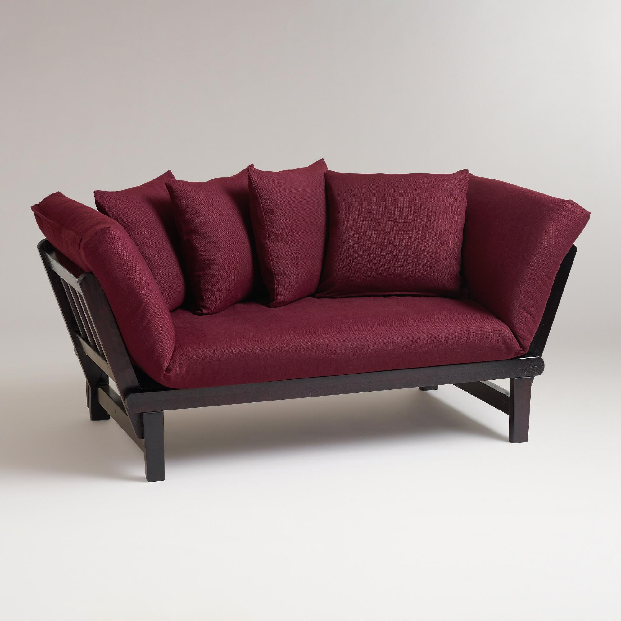 Cost plus world market fig studio day sofa slipcover for Average cost of sofa