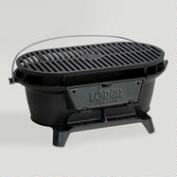 Lodge Hibachi-Style Charcoal Grill