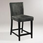 Charcoal Reese Counter Stool