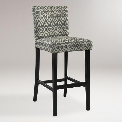 Driftwood Ikat Reese Counter Stool