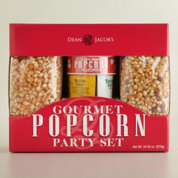 Dean Jacob's Gourmet Popcorn Party Set