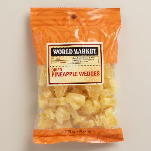 World Market® Dried-Pineapple Wedges