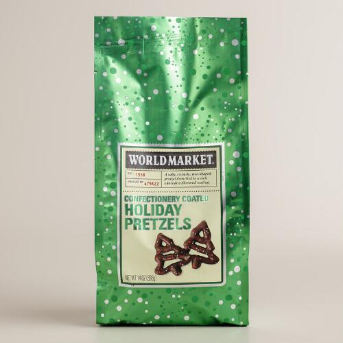 World Market® Christmas Tree Pretzels