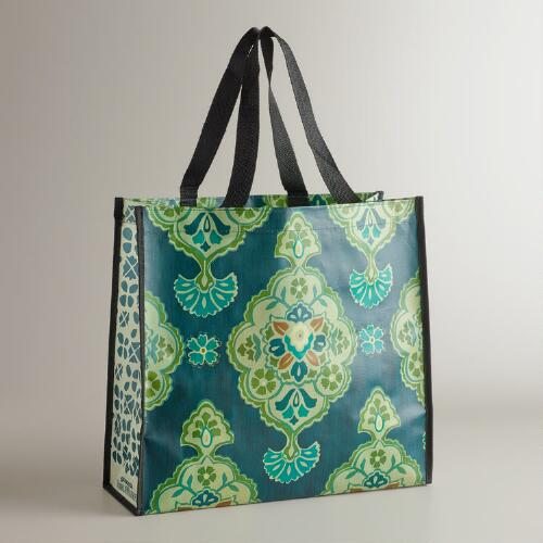 Blue Inverness Tote