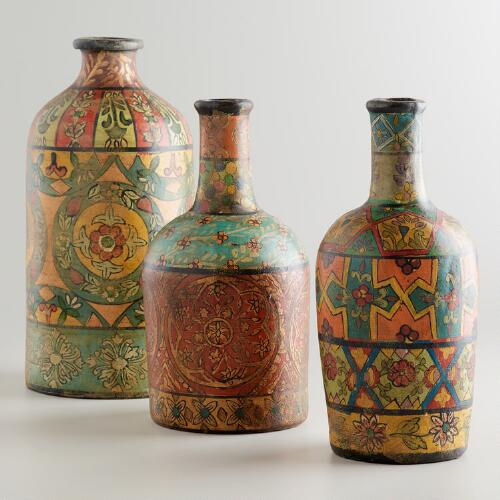 Recycled Terracotta Bottles