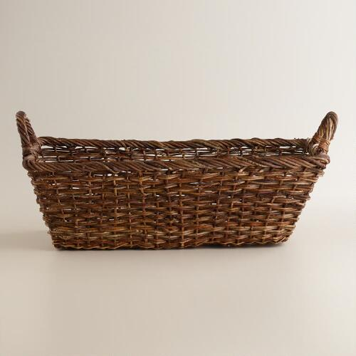 Kristina Rectangle Tapered Basket