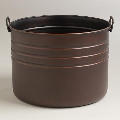 Declan Cauldron Log Bucket